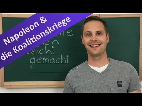 Napoleon – Koalitionskriege, Kontintentalsperre, Code Civil, Mediatisierung & Säkularisierung