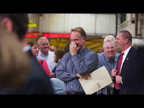 President Trump at The Sheffer Corporation