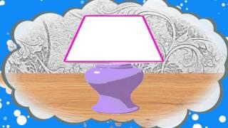 Геометрия для малышей. Трапеция. Мультфильм про геометрические фигуры.