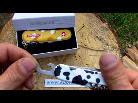 Wenger Swiss memory EvoCow a EvoCheese