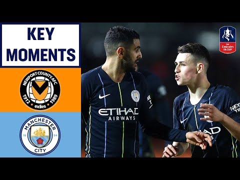 Newport 1-4 Manchester City | Key Moments | Emirates FA Cup 2018/19 - Thời lượng: 2 phút, 4 giây.