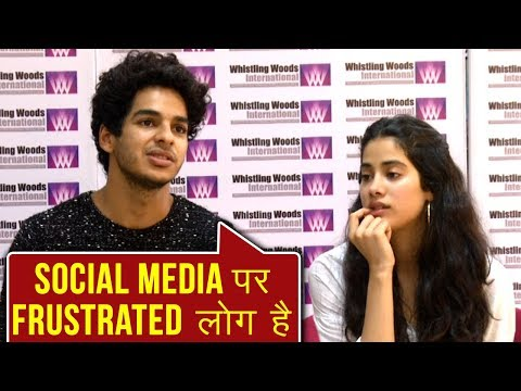 Janhvi Kapoor And Ishaan Khatter React On Social M