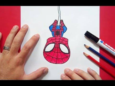 Como Dibujar A Spiderman Paso A Paso 3 | How To Draw Spiderman 3