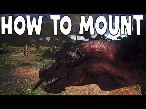 Monster Hunter World: HOW TO MOUNT - In Depth Guide (видео)