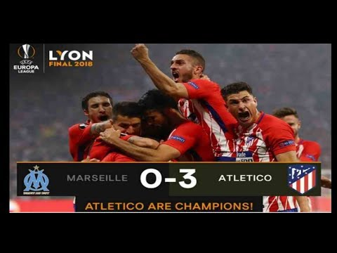FINAL EUROPA LEAGUE 2018 Marseille vs Atletic-Madrid