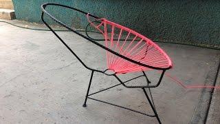 En este nuevo video quiero compartirles la elaboracion de la estructura de una silla acapulco infantil, ideal para estas temporadas de mucha calor.Imagínate disfrutando de una siesta, a la sombra de un árbol sentado en una de estas sillas!!! ENLACE PARA DESCARGAR LAS MEDIDAS DE LA SILLA ACAPULCO: https://mega.nz/#F!3IVHkDyB!LIJfh4pcwo4Ql0CfpE2Y4AFacebook: https://www.facebook.com/joseriosr2No olvides suscribirte y activar las notificaciones para enterarte de los nuevos vídeos. ES GRATIS!!!Saludos y buenas vibras!!