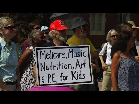 Kaine HealthCare Rally Roanoke