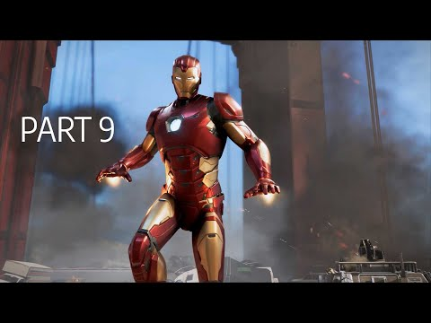 MARVEL'S AVENGERS Gameplay Part 9 | Securing an asset (Full Game)