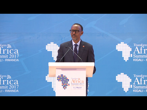 Video President Kagame's address at Transform Africa Summit 2017 | Kigali, 10 May 2017 download in MP3, 3GP, MP4, WEBM, AVI, FLV January 2017