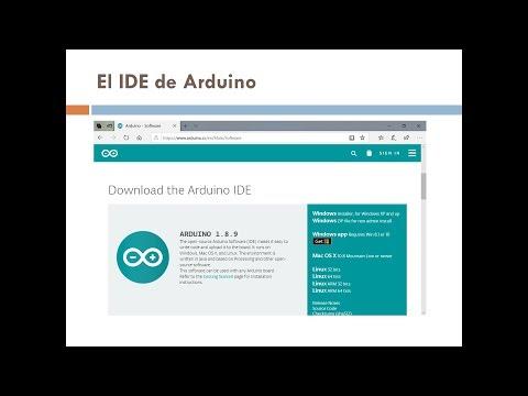 El IDE de Arduino