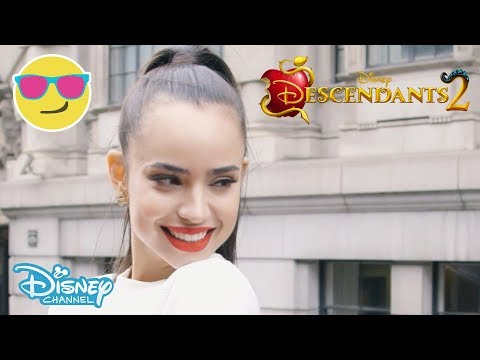 Descendants 2 | Sofia Carson in London 🇬🇧 | Official Disney Channel UK