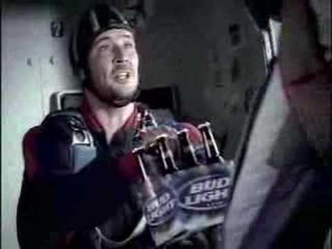 Super Bowl XXXIX Commercial. Budweiser. Skydivers.