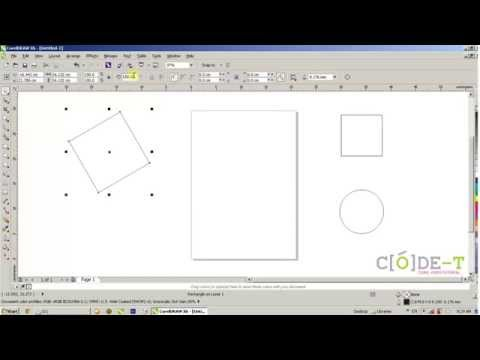 How To Edit And Transform An Basic Shapes In CorelDraw