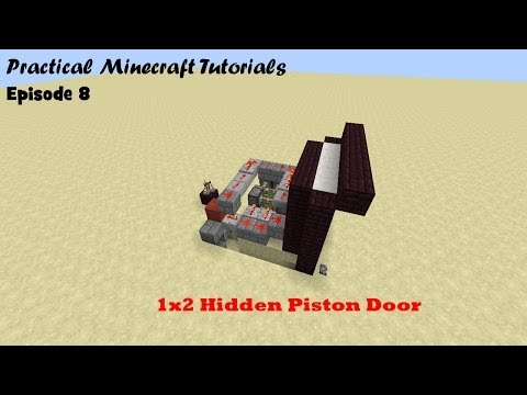 Piston Door 1x2 1x2 Hidden Piston Door