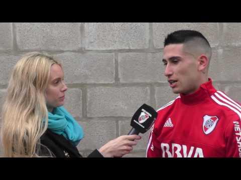Nicol�s Franco, el goleador de River en la zona