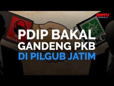 PDIP Bakal Gandeng PKB Di Pilgub Jatim