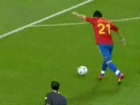 Goles de Villa con España
