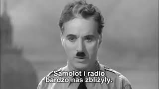Charlie Chaplin znany był z ról niemych, ale kiedy zdecydował się przemówić, zaprezentował jedną z najsłynniejszych mów w historii.