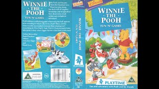 Video Opening and Closing of 'Winnie the Pooh - Fun 'n' Games' (1996, UK VHS) MP3, 3GP, MP4, WEBM, AVI, FLV Oktober 2018