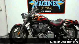 10. 2006 Honda VTX 1800C Spec 2  - Dream Machines of Texas - ...