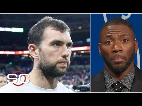 Andrew Luck39s retirement from the NFL shocks Ryan Clark  SportsCenter