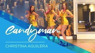 Video Candyman - Christina Aguilera - Easy Show Dance Fitness Choreography  - Fun - showdance MP3, 3GP, MP4, WEBM, AVI, FLV September 2017