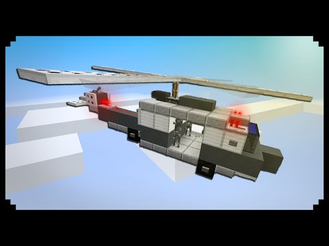 ✔ Minecraft: How To Make A Helicopter