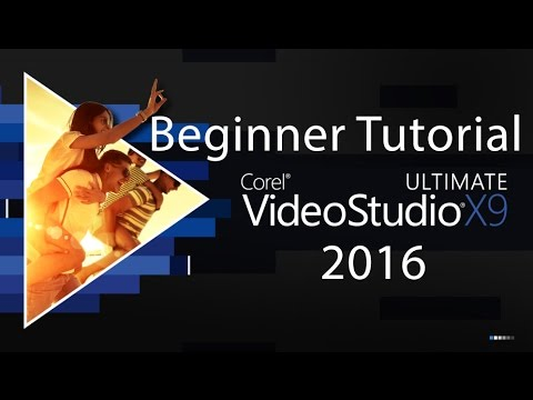 Corel VideoStudio X9 Tutorial | Beginner to Advanced | Editing Video