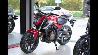 8. Honda CB500F 2018 Red Gray - Cận cảnh CB500F �� Xám HDVN - Walkaround