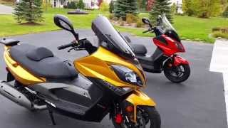 7. Kymco Xciting R 500i and Downtown  300i comp. Part