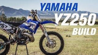 7. 2004 Yamaha YZ250 Bike Build