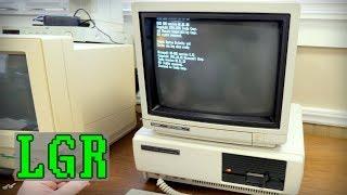 Tandy 1000 PC + CM-11 Monitor! Unboxing & Setup [LGR]