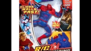 The Amazing Spider-Man R/C Speed-Climbing Figure HD Review | Www.teksushi.com