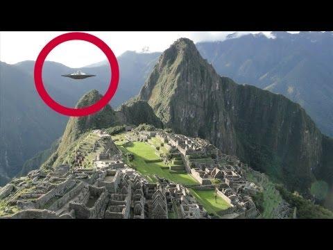 incredibili avvistamenti alieni a machu picchu (reale, no photoshop)