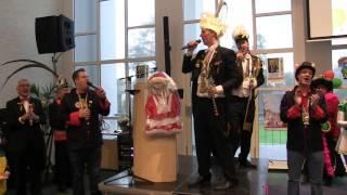 Op zondag 7 februari 2016 vond de sleuteloverdracht plaats in het gemeentehuis van Valkenburg. Ken en Bob zongen samen met Prins Jordy I en Minister John met veel overgave de Ode van Valkenburg.