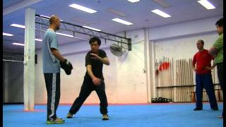 Training with Sifu 26.09.14 by Brett Adlard