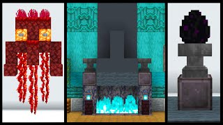 1.16 Minecraft Nether Update Building Tricks and Tips