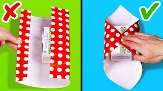 Video 25 EASY GIFT WRAPPING IDEAS AND HACKS MP3, 3GP, MP4, WEBM, AVI, FLV Desember 2018