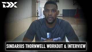 Sindarius Thornwell Pro Day Workout Video and Interview