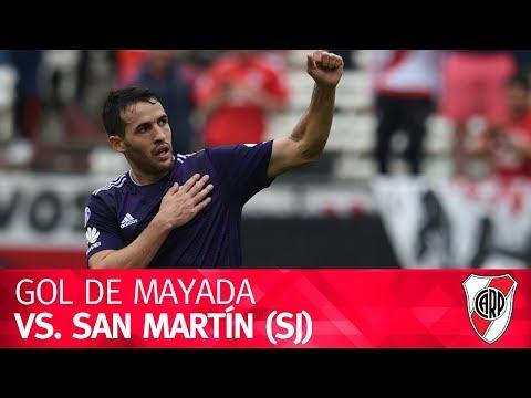 Gol de Camilo Mayada vs. San Martín (SJ)