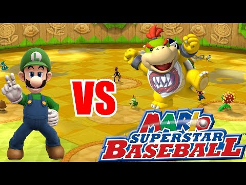 Nintendo Wii U - Super Mario Sluggers - FUN HOUSE VS FUN MANSION! [WHO WINS?]