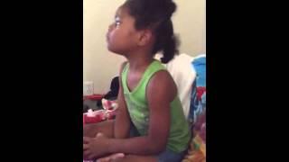 Deonna Singing Bubble Guppies Song