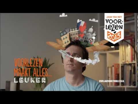 Voorlezen maakt alles leuker – commercial met Merel Westrik