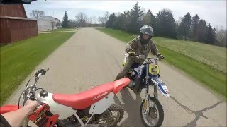 6. Honda Cr 80 vs. Yamaha YZ 80!!!