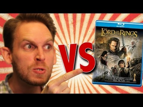 Lord Of The Rings Return Of The King Blu-Ray Unboxing (HD)