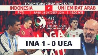 Download Video Cuplikan GOL Kemenangan!! (Indonesia 1 Vs 0 UEA)  AFC U-19 2018 Indonesia MP3 3GP MP4