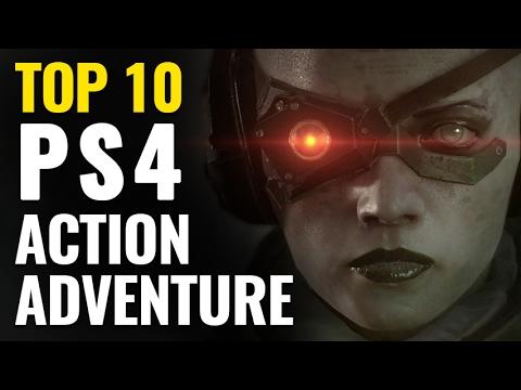 Top 10 Best Action-Adventure Games on PS4