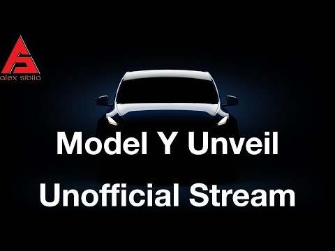 Tesla Model Y Unveil Unofficial Live Stream