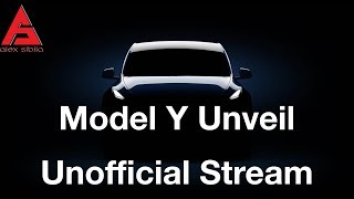 Tesla Model Y Unveil Unofficial Live Stream