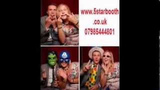 Cheap Photo Booth Hire, Party Like Celebrities, Be A Royal, Www.5starbooth.co.uk